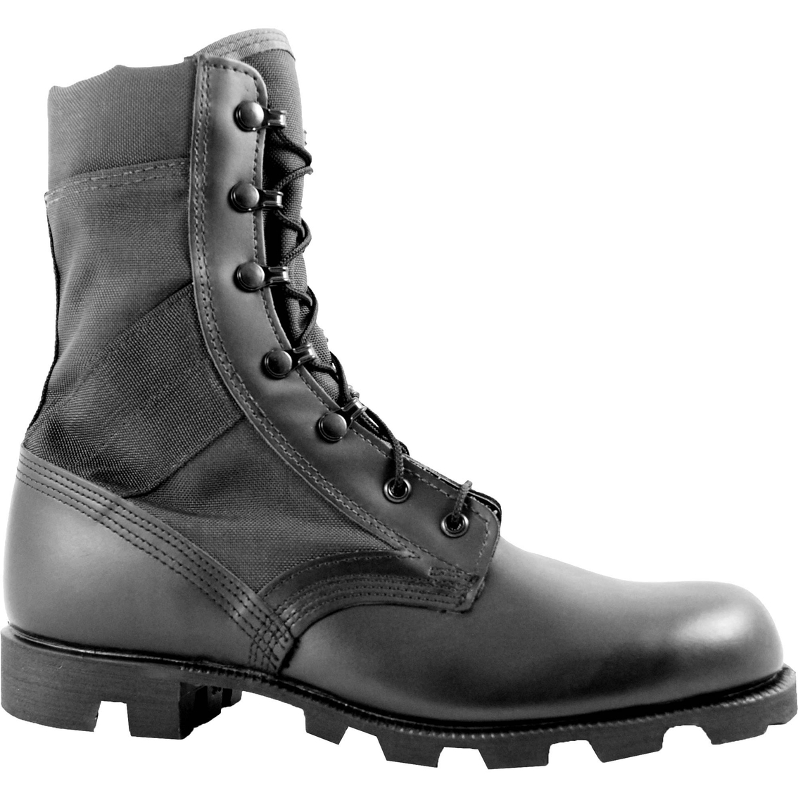 Mcrae Black Hot Weather Jungle Combat Boots With Panama Outsole ... cc5dcc5cc70b