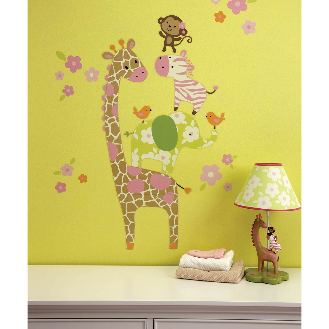 Carter\'s Jungle Collection Wall Decals | Wall Décor | Baby & Toys ...