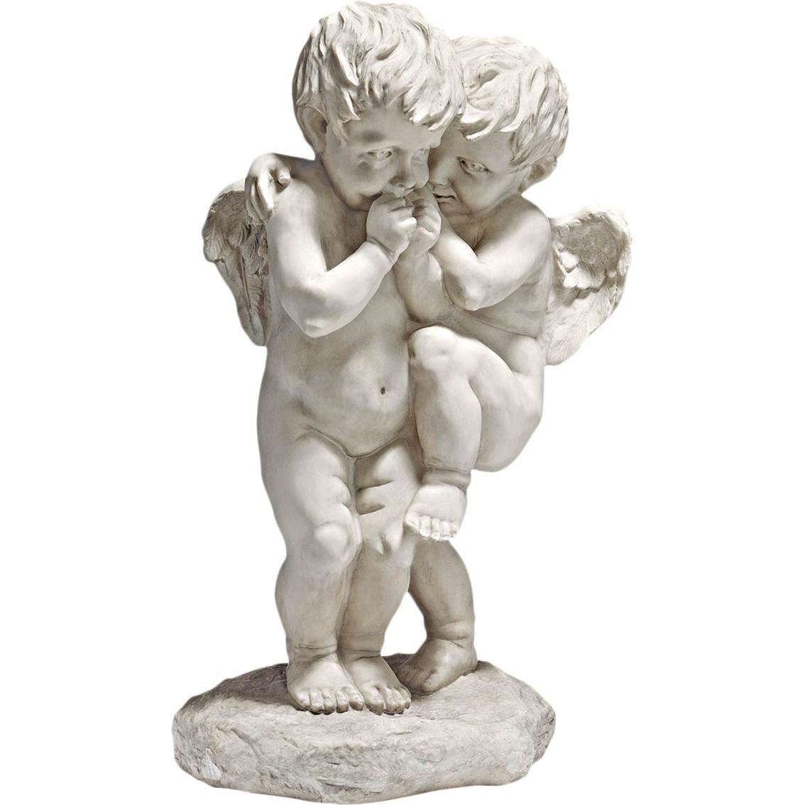 Design Toscano Cherubs Damour Statue Sculptures More