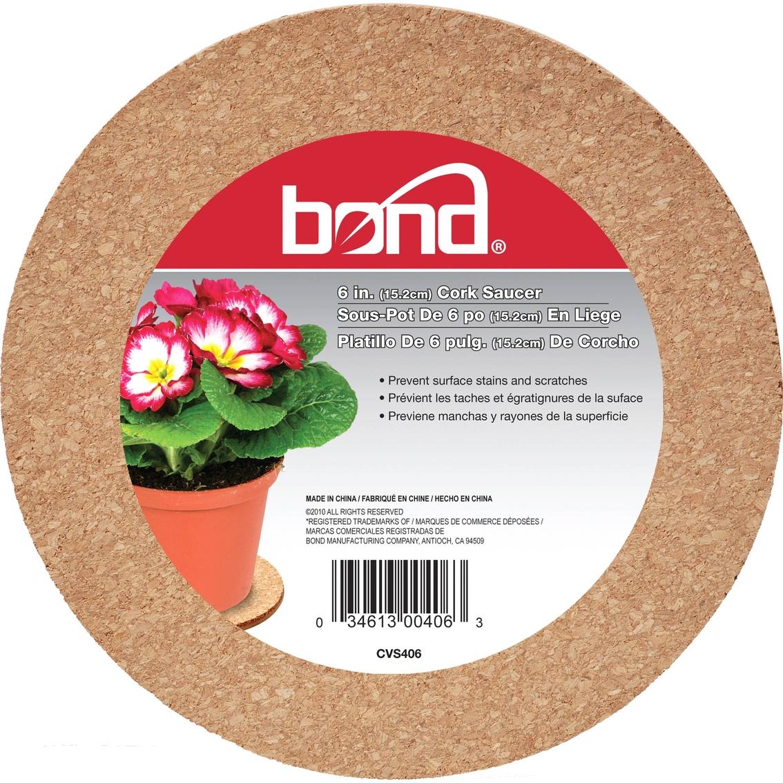Bond 6 In Cork Plant Saucer Planters Tubs Patio Garden Garage Shop The Exchange