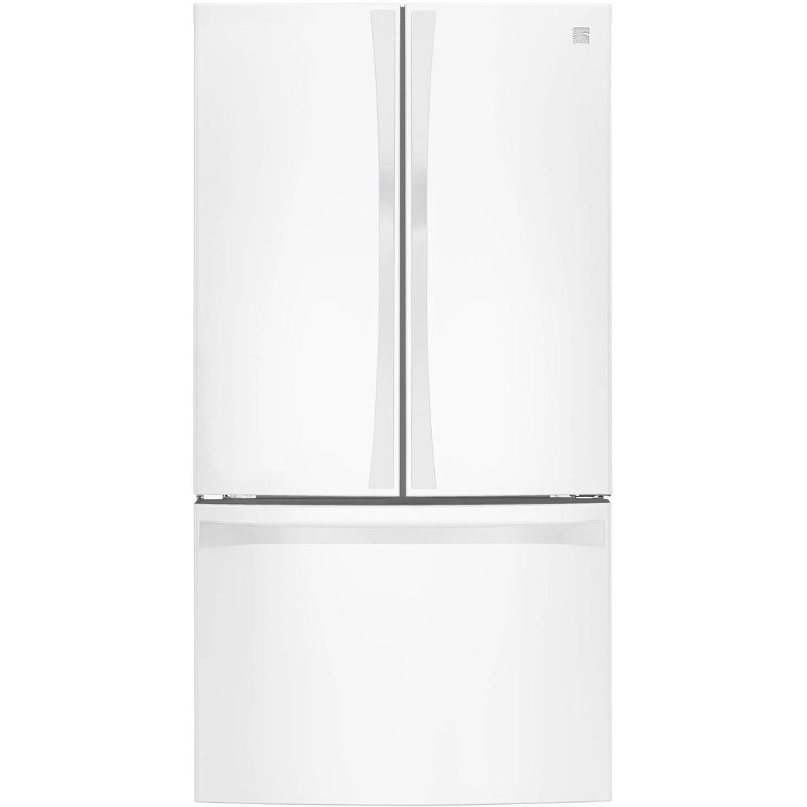 Kenmore Elite 30 6 Cu Ft French Door Bottom Freezer Refrigerator