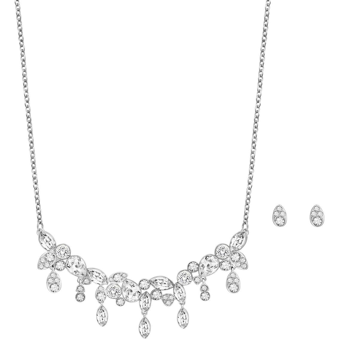 f60862c22 Swarovski Diapason Necklace And Stud Earrings Set | Crystal Jewelry ...