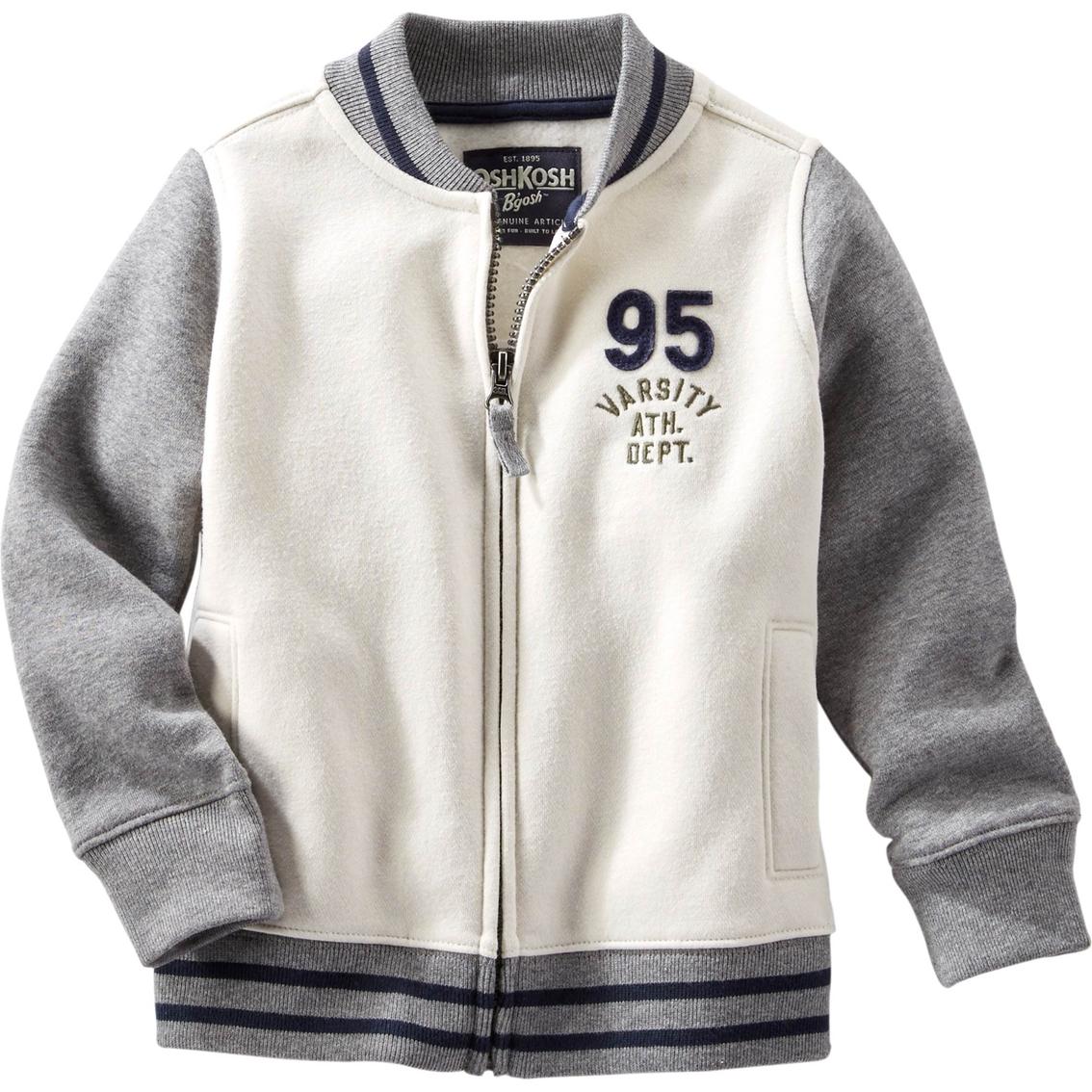 Oshkosh B Gosh Little Boys Colorblock Varsity Jacket Boy