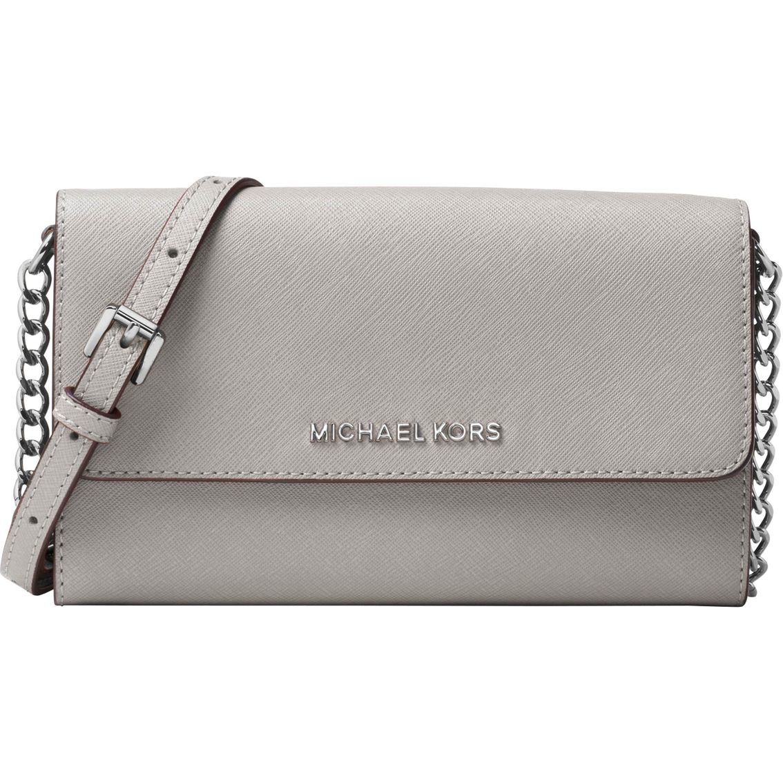 614c74bc702d48 Michael Kors Jet Set Travel Large Phone Crossbody | Handbags | Shop ...