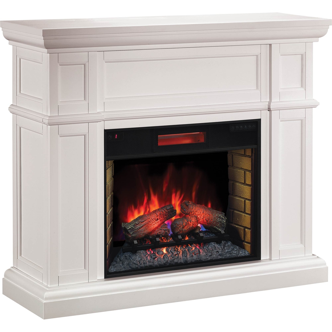 save off 75938 2625b Twinstar Artesian Wall Mantel, White | Indoor Heaters ...