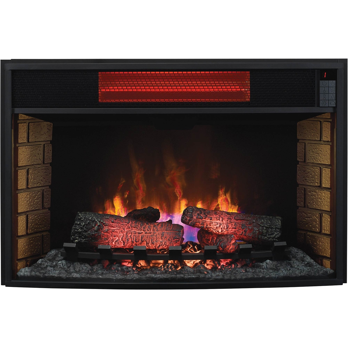 Shop Twinstar ClassicFlame Electric 33 In. Fireplace Insert and other name brand Media Furniture Home & Appliances at The Exchange. You