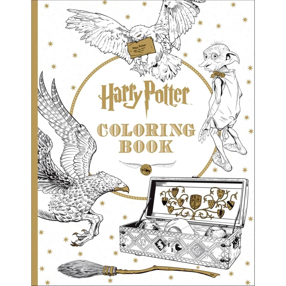 Harry Potter Coloring Book | Children\'s Books | More | Shop ...