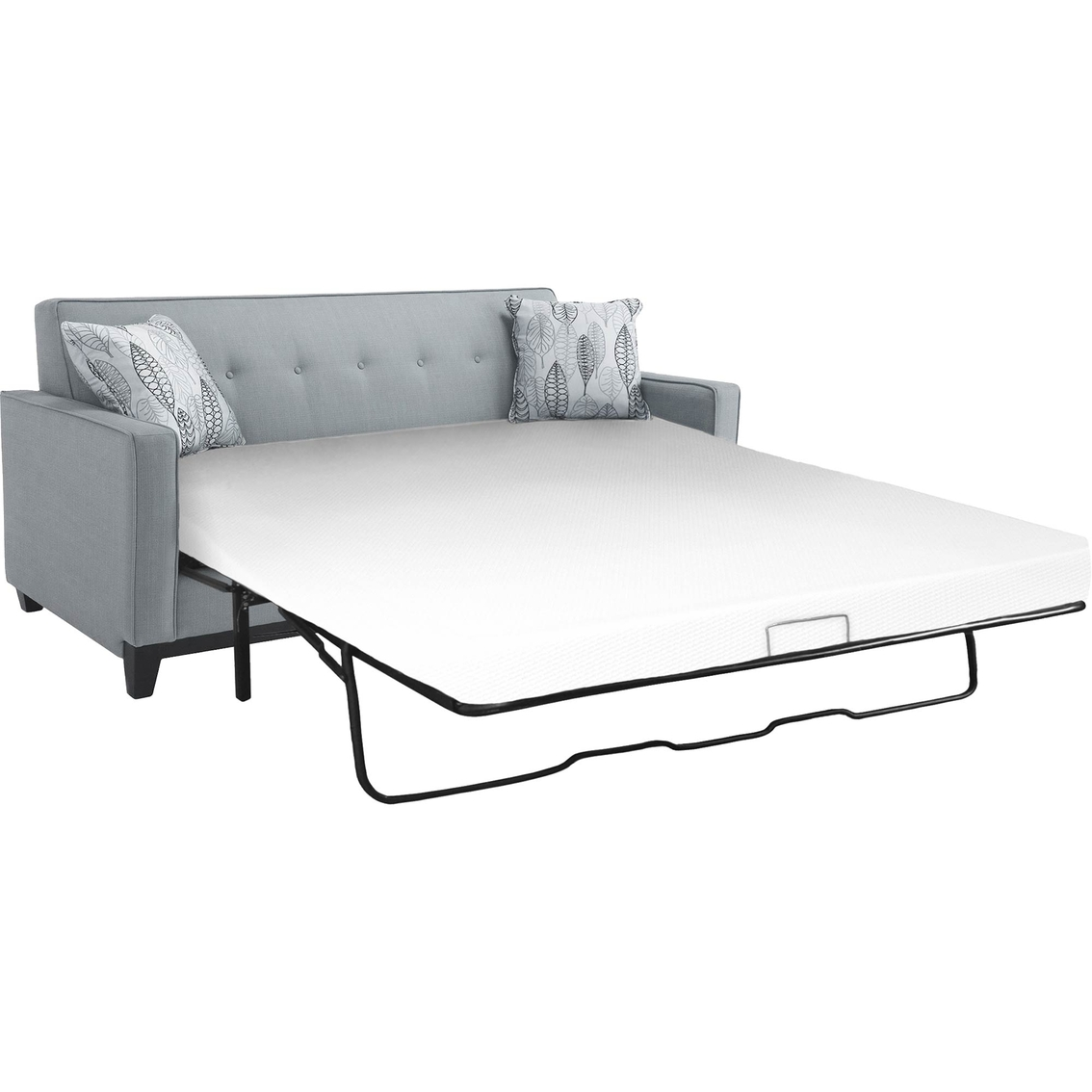 snuggle home memory foam twin sleep sofa replacement mattress mattresses home appliances. Black Bedroom Furniture Sets. Home Design Ideas