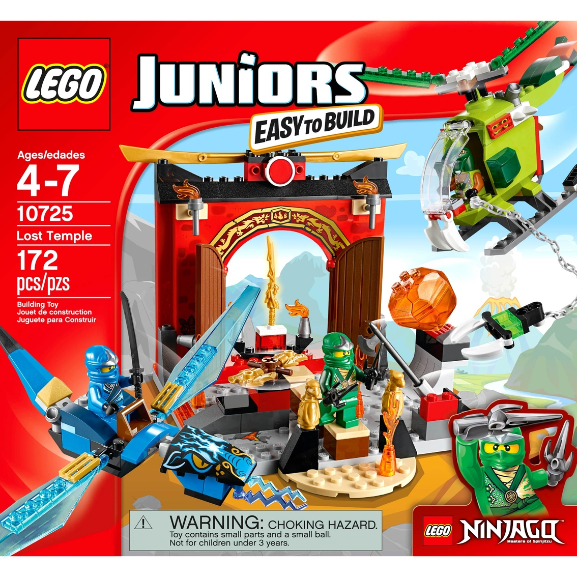 Lego Juniors Lost Temple Lego Juniors Baby Toys Shop The