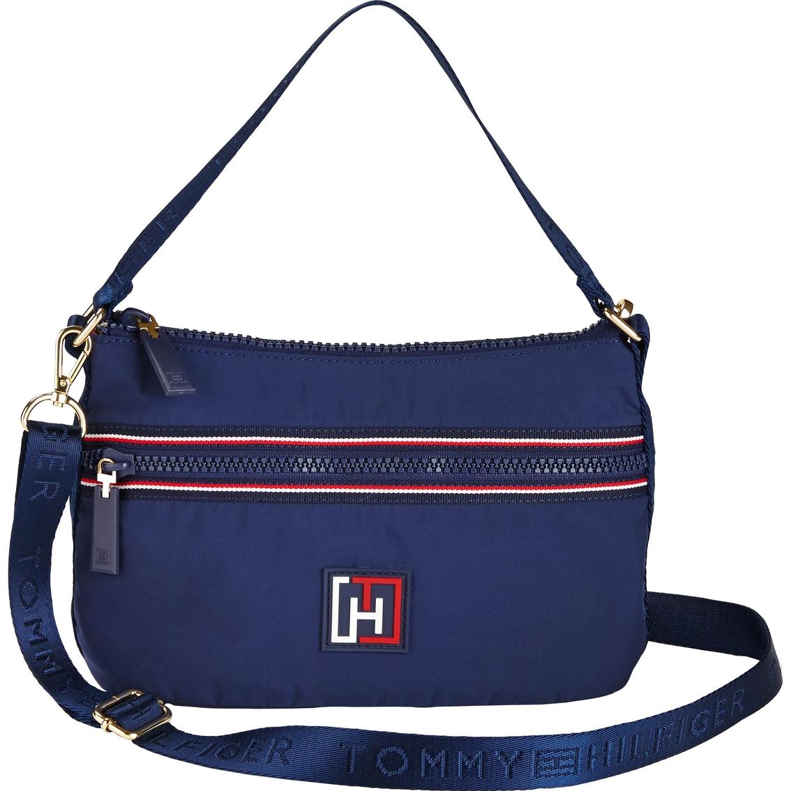 tommy hilfiger training mini convertible hobo hobo bags handbags accessories shop the. Black Bedroom Furniture Sets. Home Design Ideas