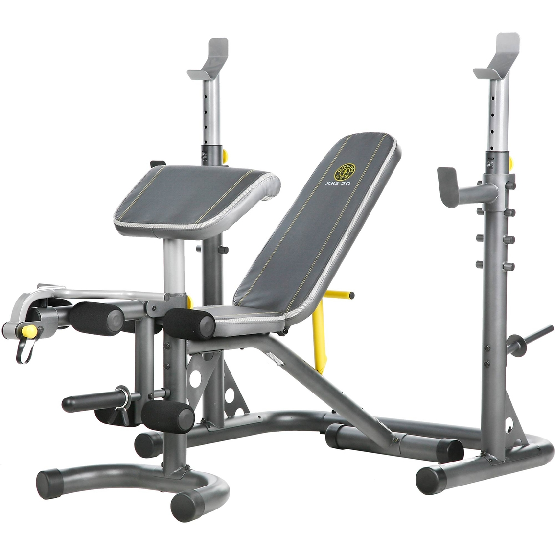 Gold S Gym Xrs 20 Rack And Bench Strength Training