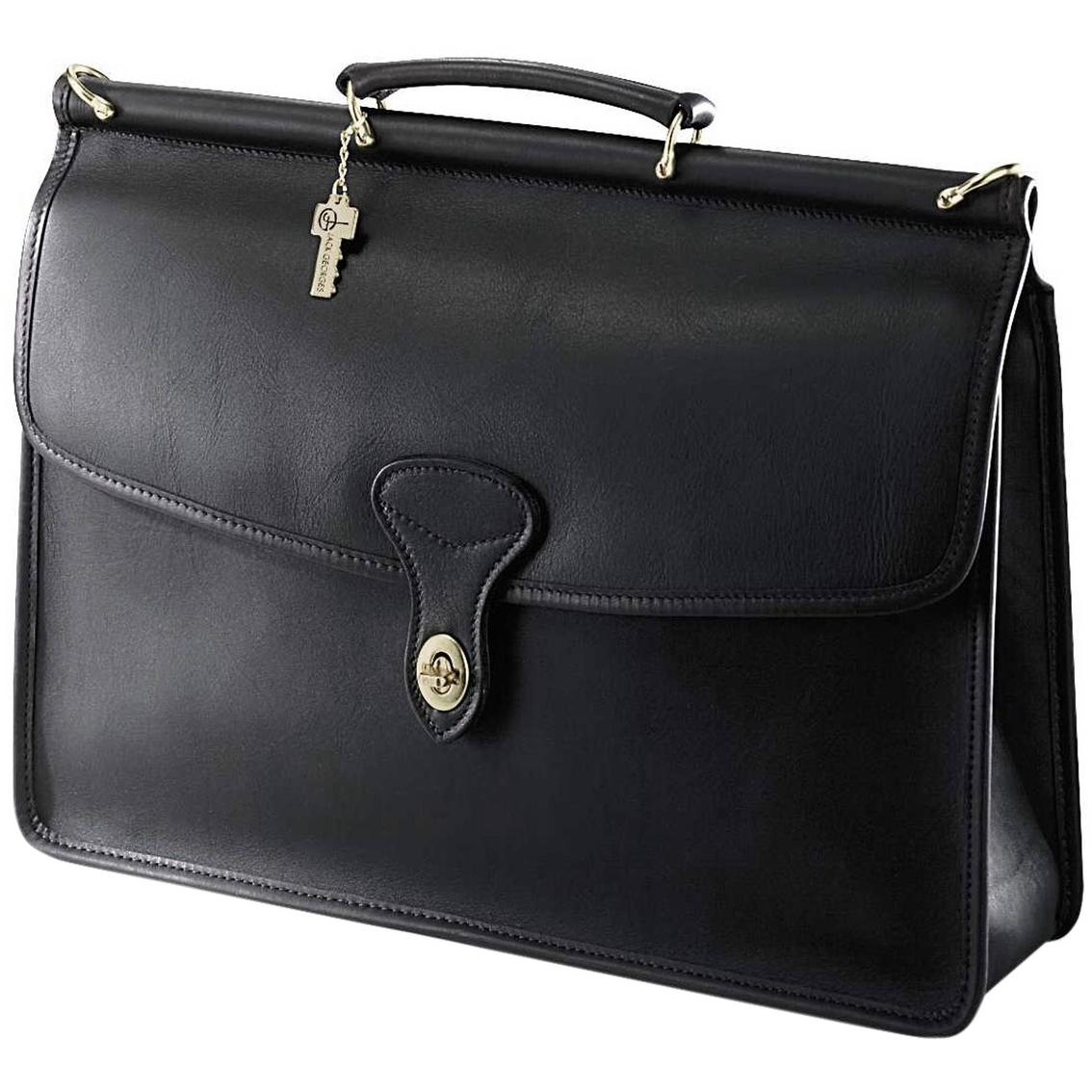 Jack Georges Fine Leather Goods University Collection Leather Bag ...