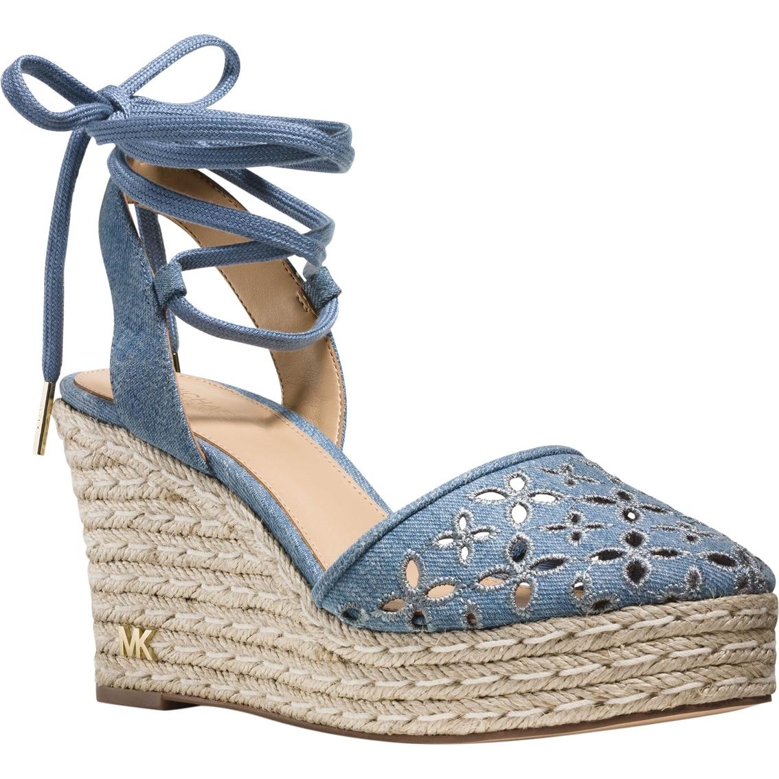 Michael Kors Darci Closed Toe Wedges Wedge Shoes