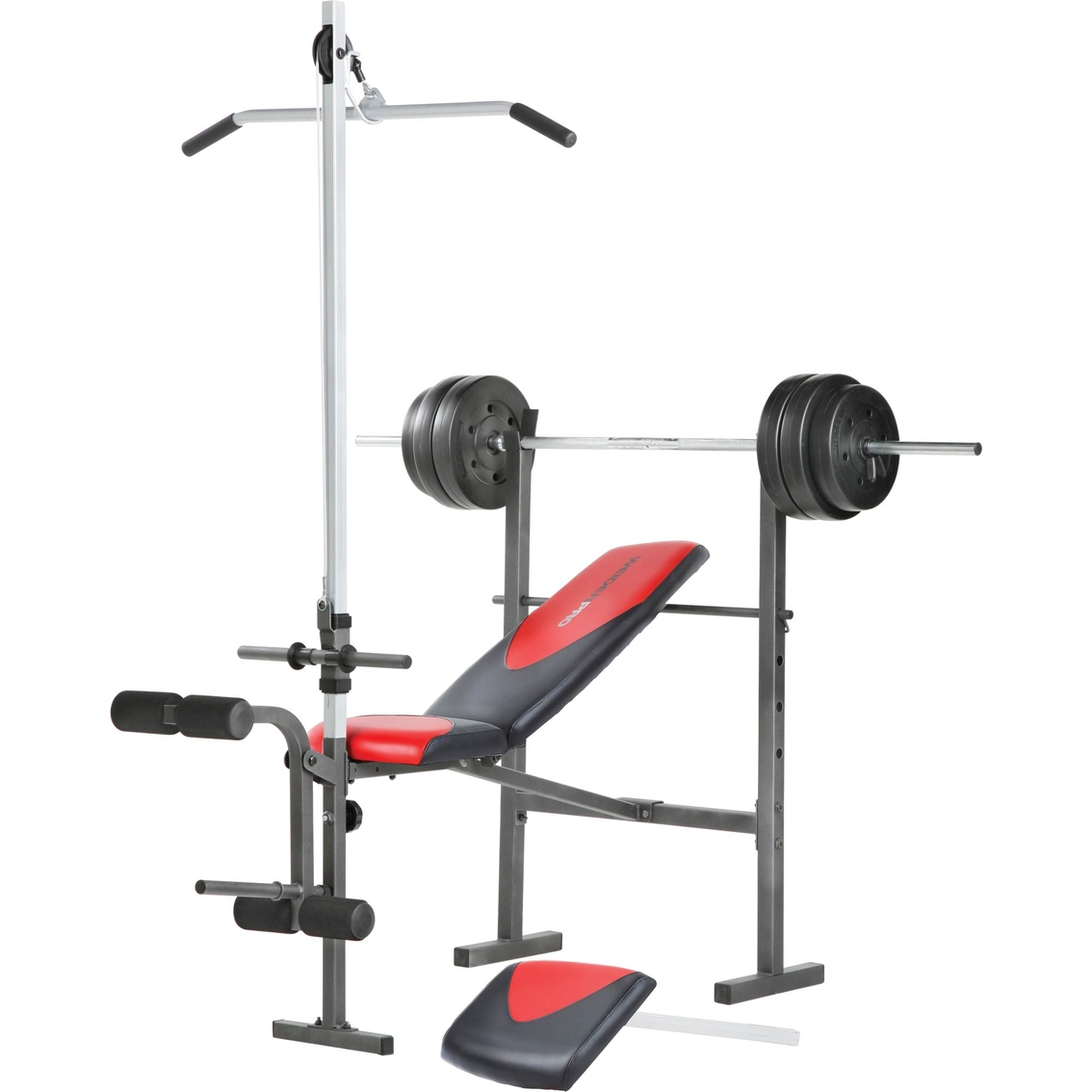 Weider pro 256 weight bench combo set exercise fitness more shop the exchange Weight set and bench