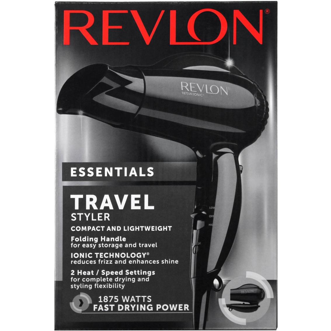 Revlon 1875w Quick Blowout Travel Hair Dryer Hair Dryers Beauty