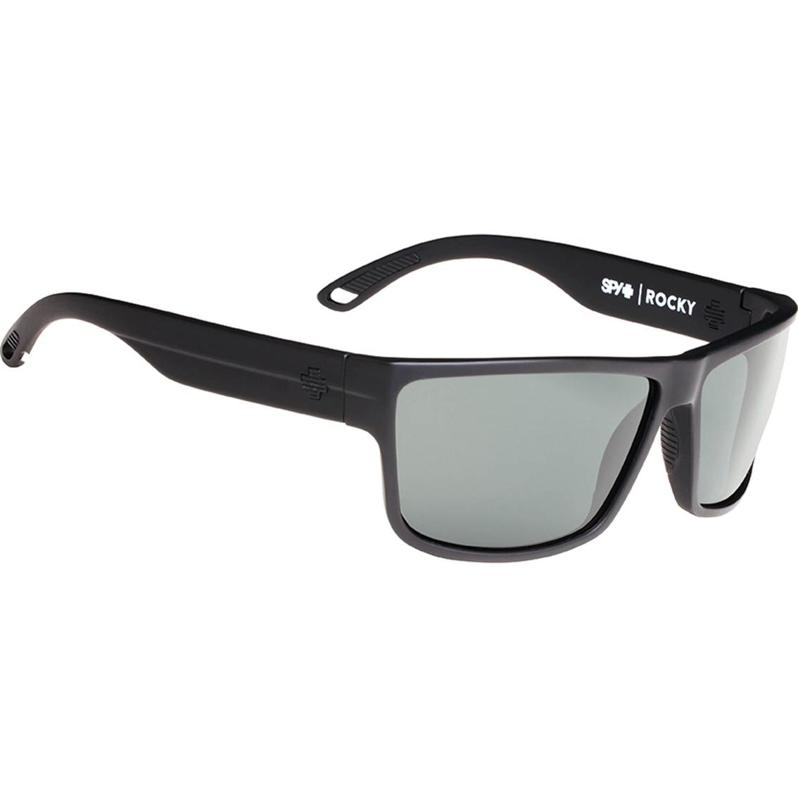 8da6eb7b8d Spy Optic Rocky Plastic Rectangle Happy Lens Sunglasses 673248374863 ...