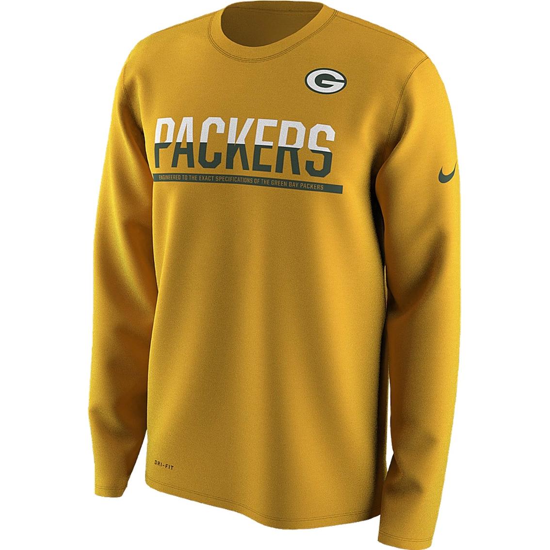 Nike Nfl Green Bay Packers Men S 2016 Team Practice Tee