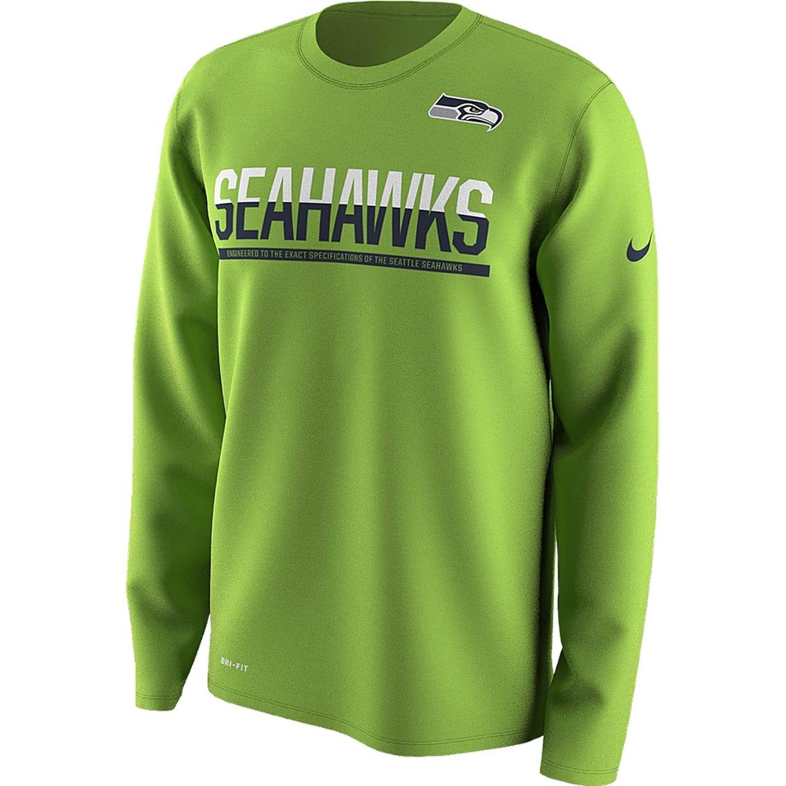 Nike Nfl Seattle Seahawks Men s 2016 Team Practice Tee  abd54a69e
