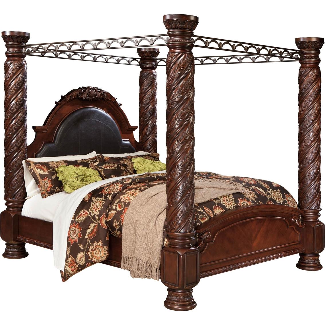 Ashley Furniture North Shore Poster Bed Home Decor