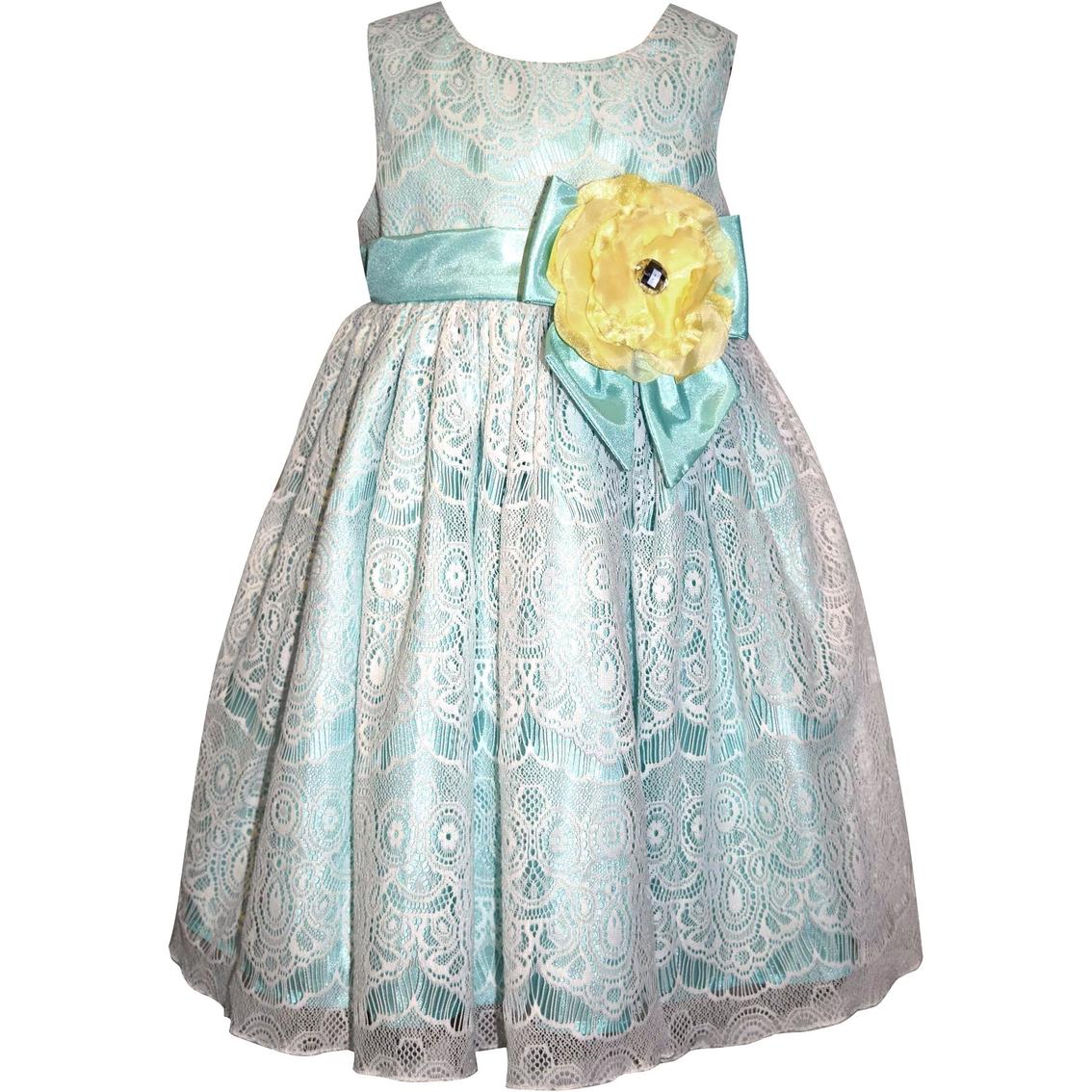 Blueberi Boulevard Infant Girls Floral Dress Baby Girl 0