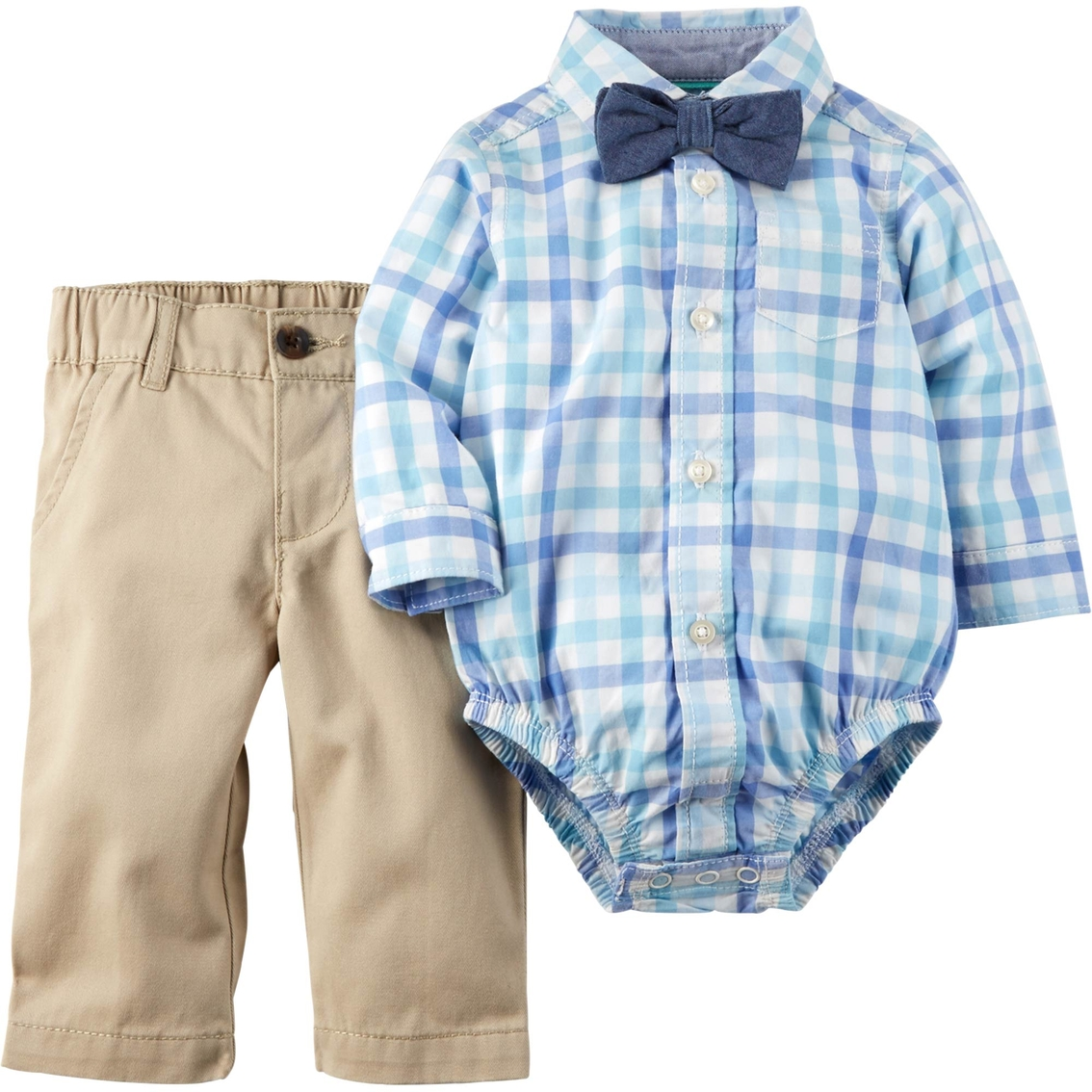 c3ba34918 Carter's Infant Boys Easter Plaid 3 Pc. Shirt & Pants Set | Baby Boy ...