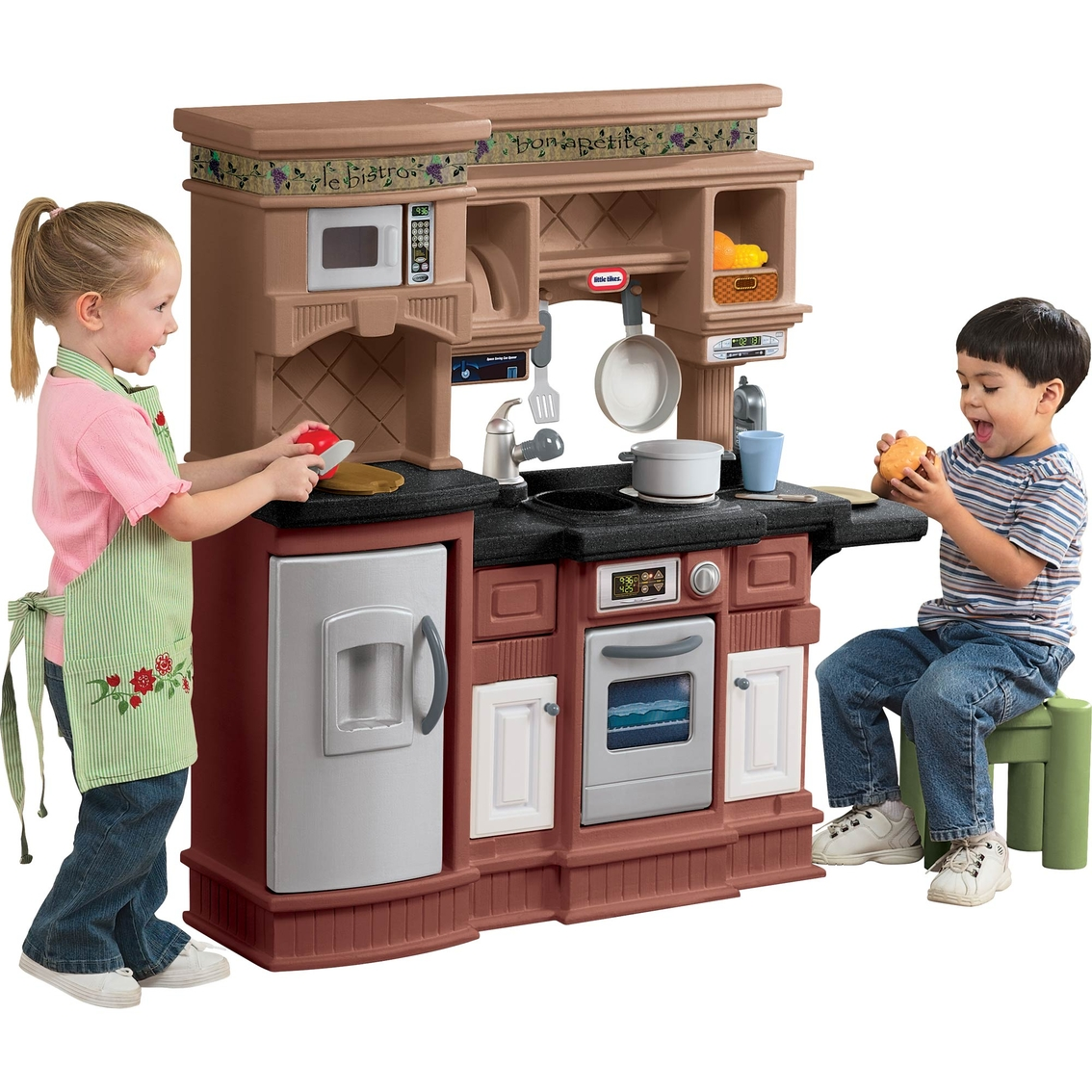 Little Tyke Kitchen Set: Little Tikes Gourmet Prep 'n Serve Kitchen