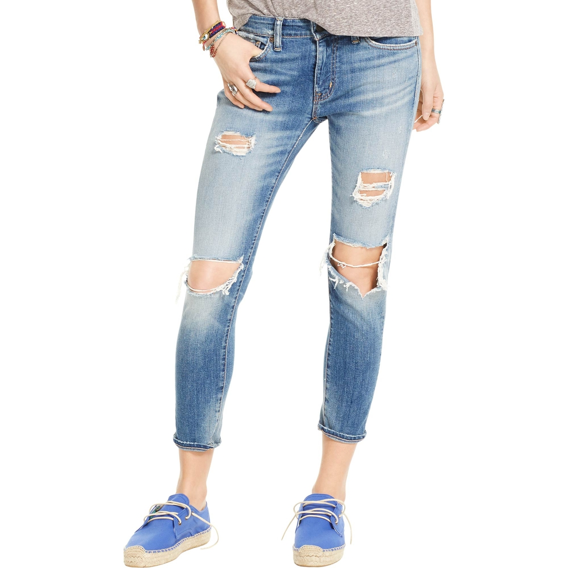 4ef37f9a02 Denim & Supply Ralph Lauren Kayla 5 Pocket Cropped Skinny Jean ...