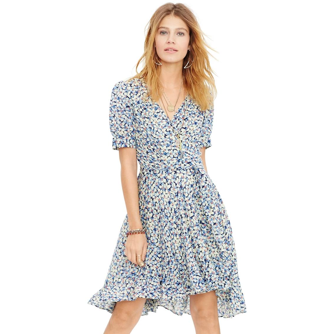 Denim   Supply by Ralph Lauren Windstorm Floral Cotton Gauze Wrap Dress e4424a9f1
