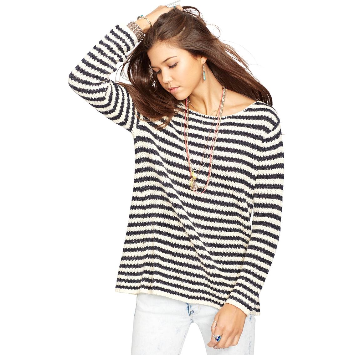 023e9117a Denim   Supply By Ralph Lauren Striped Cotton Sweater