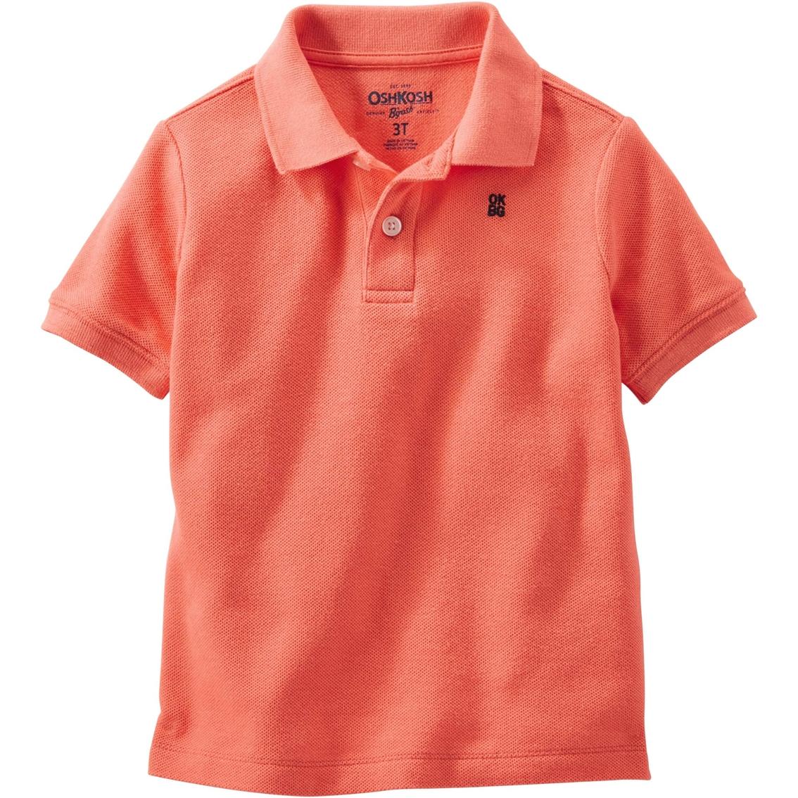 Oshkosh B 39 Gosh Toddler Boys Basic Pique Polo Shirt
