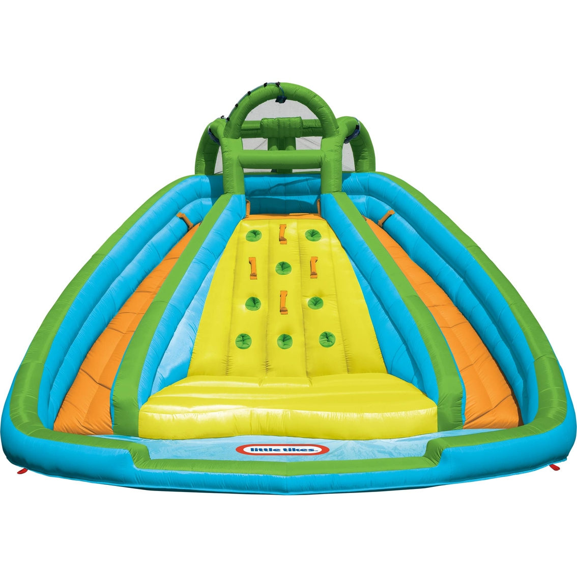 Little Tikes Rocky Mountain River Race Water Slide Bounce ...
