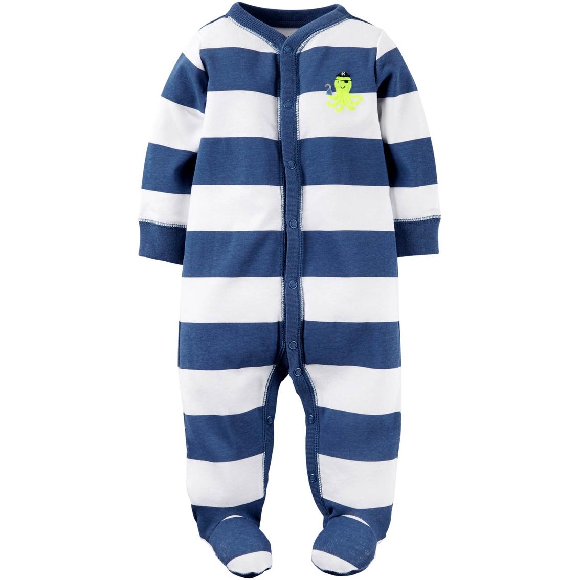 a4f84bce9cf4 Carter s Infant Boy Octopus Stripe Snap-up Sleep And Play