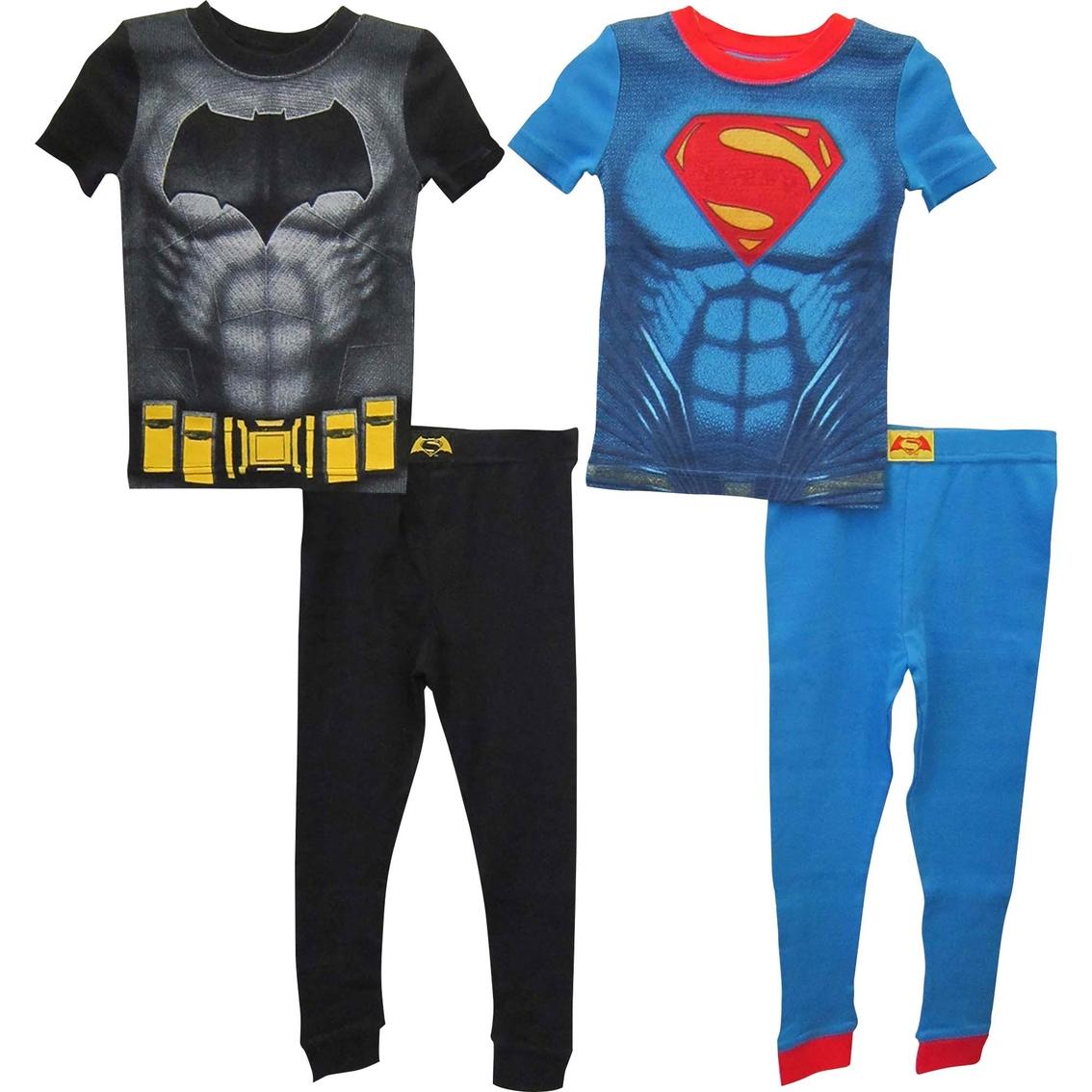 Dc Comics Toddler Boys Batman Vs. Superman 4 Pc. Pajama Set ... fa8fcc451
