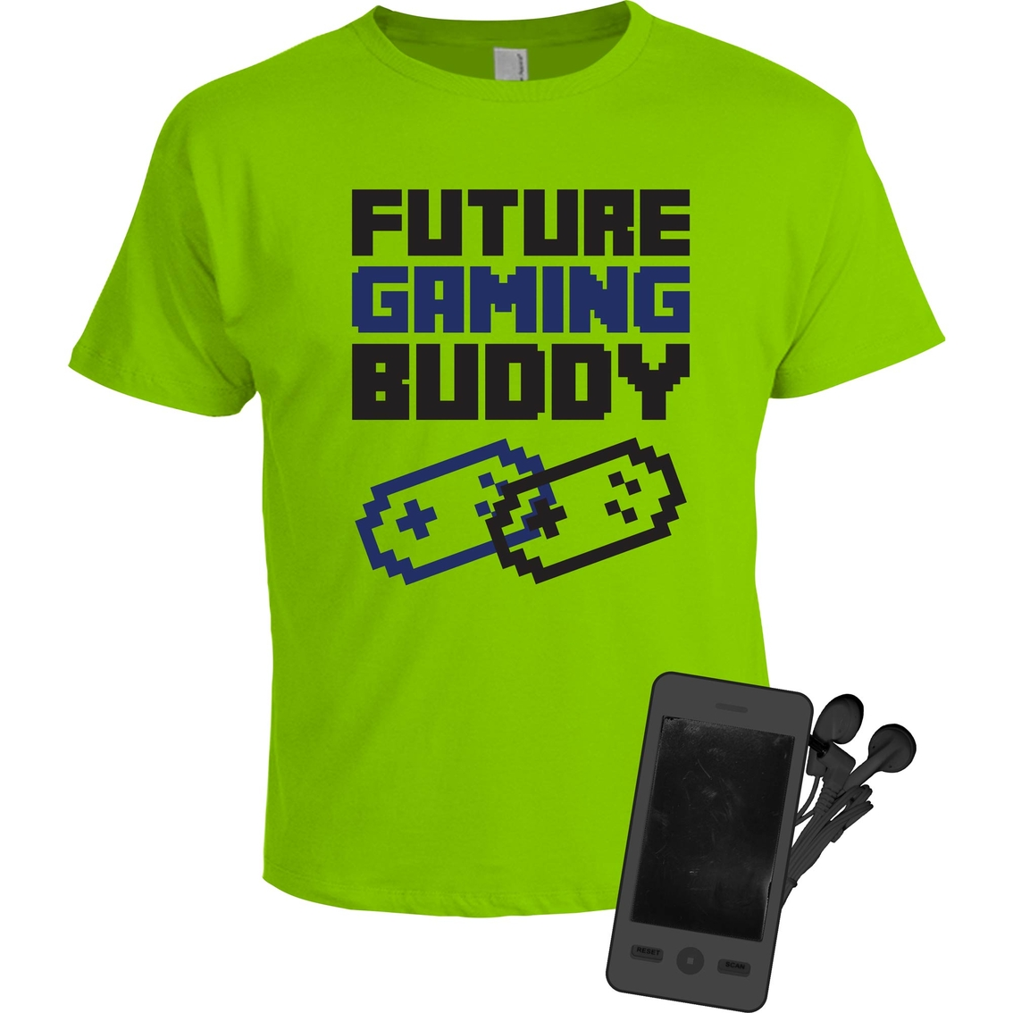 Buzz Cuts Little Boys Future Gaming Tee Buddy With Fm Radio