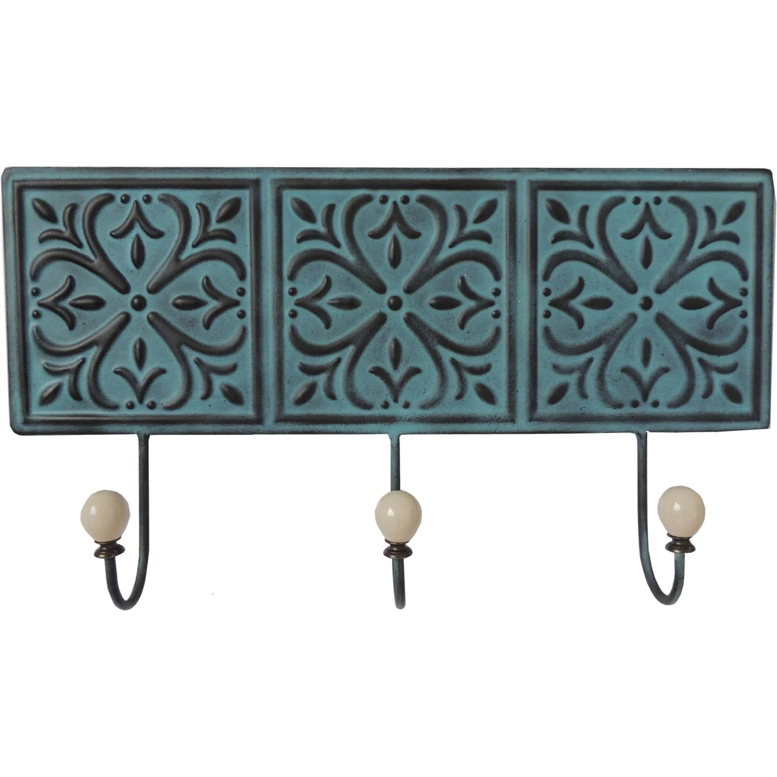 Metal Wall Decor With Three Hooks Wall Sculptures Home Appliances Shop The Exchange