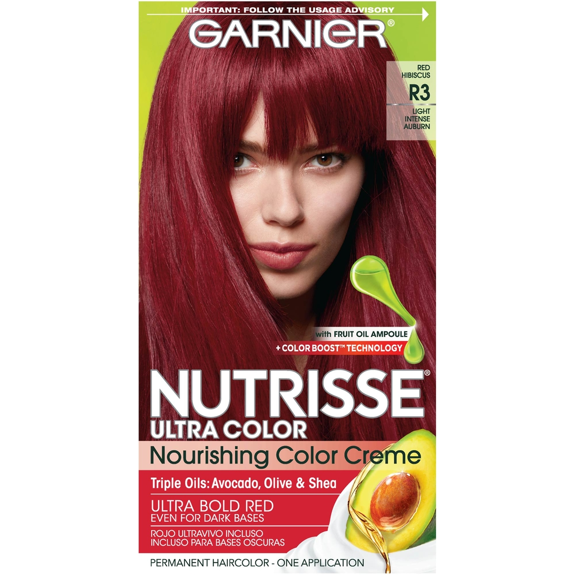 Garnier Nutrisse Ultra Color Nourishing Color Creme Hair