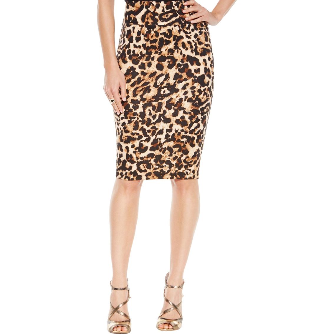 0914fd5f08 Thalia Sodi Leopard Print Scuba Pencil Skirt | Skirts | Apparel ...