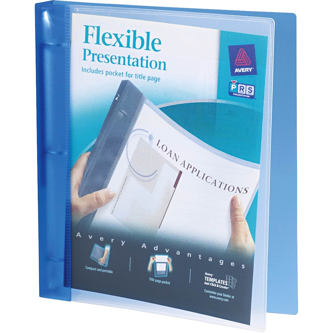 Avery Flexible View Binder With Round Rings 175 Sheet