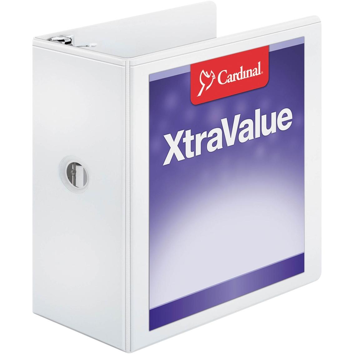 cardinal performer clearvue 5 in capacity 11 x 8 1 2 in white