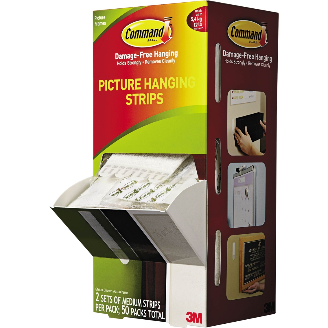 Nail Striping Tape Walmart: Command Picture Hanging Strips 50 Pk.