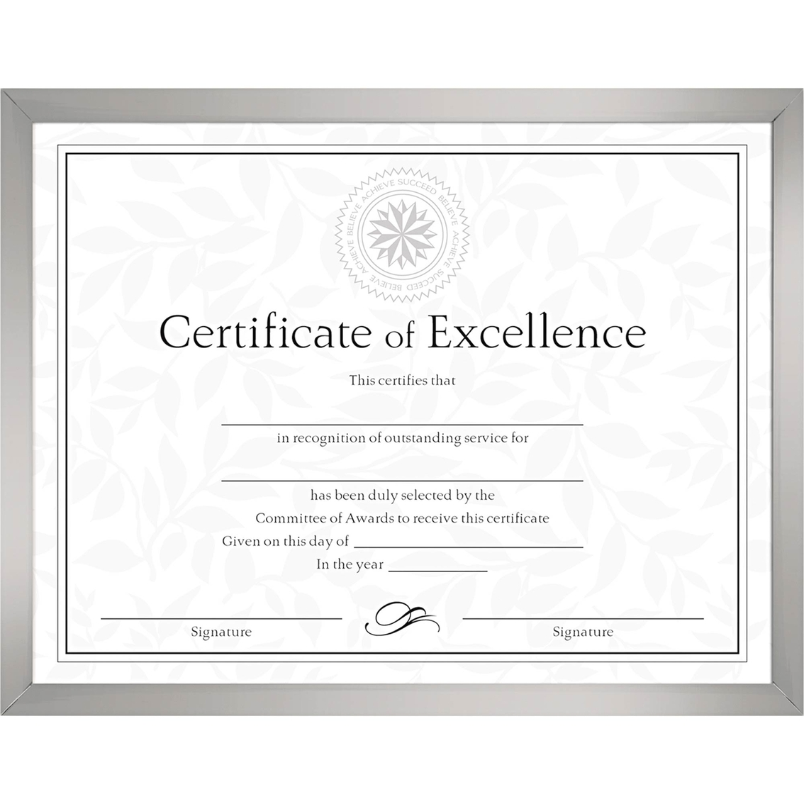 Dax 8 1/2 X 11 In. Value U-channel Document Frame | Frames | Home ...