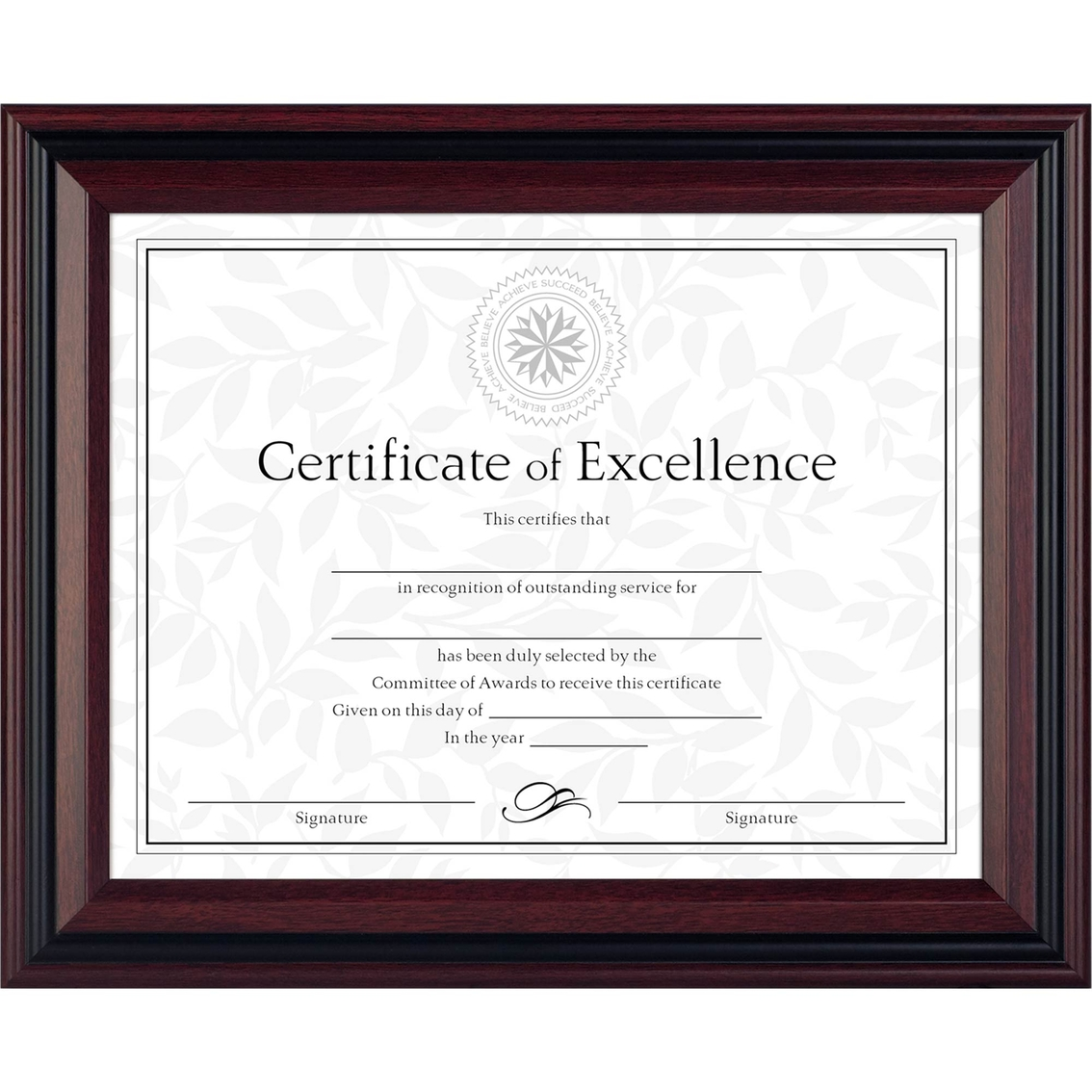 Dax 8 12 X 11 In Two Tone Document Frame Frames Home