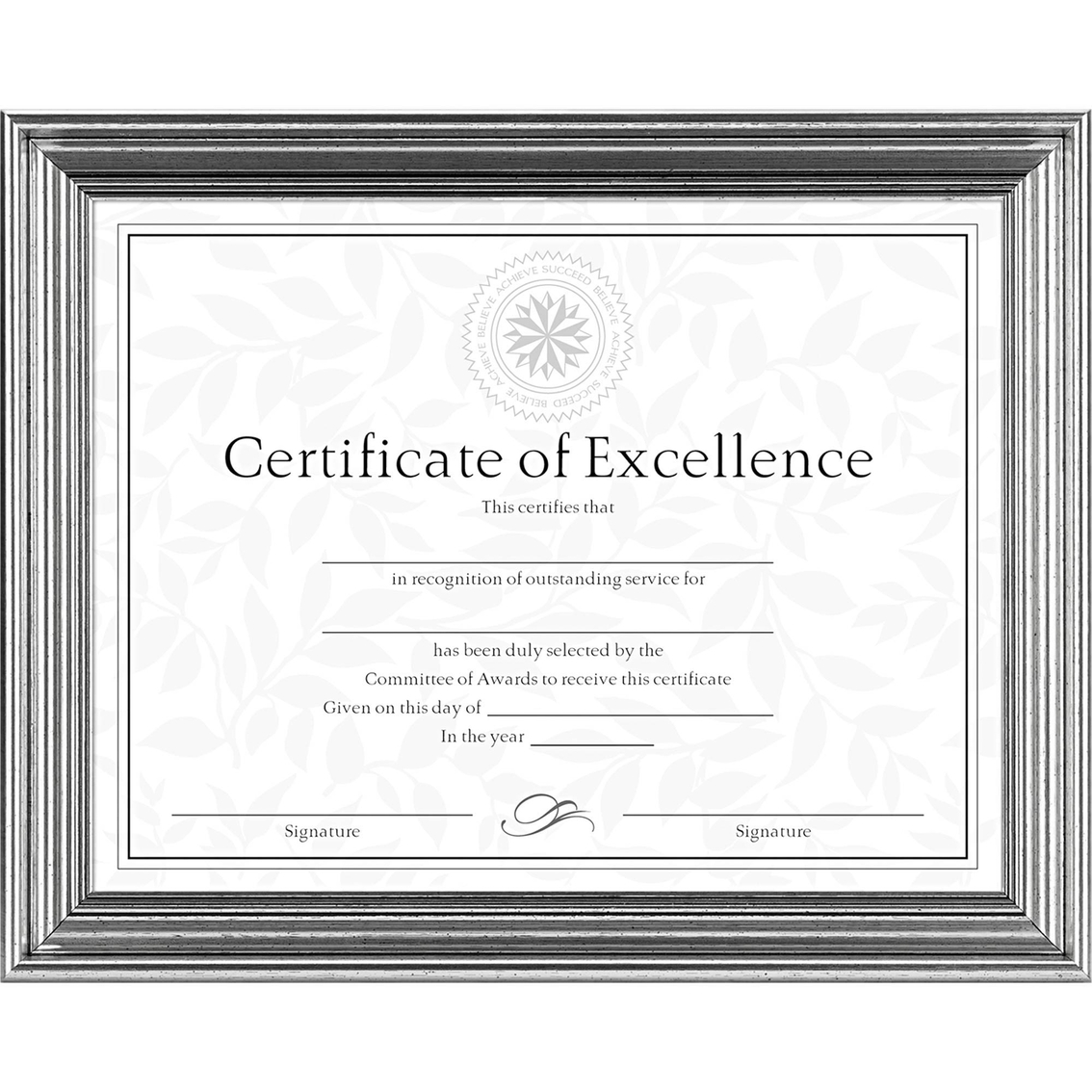 Dax 8 12 X 11 In Vintage Document Frame Frames Home