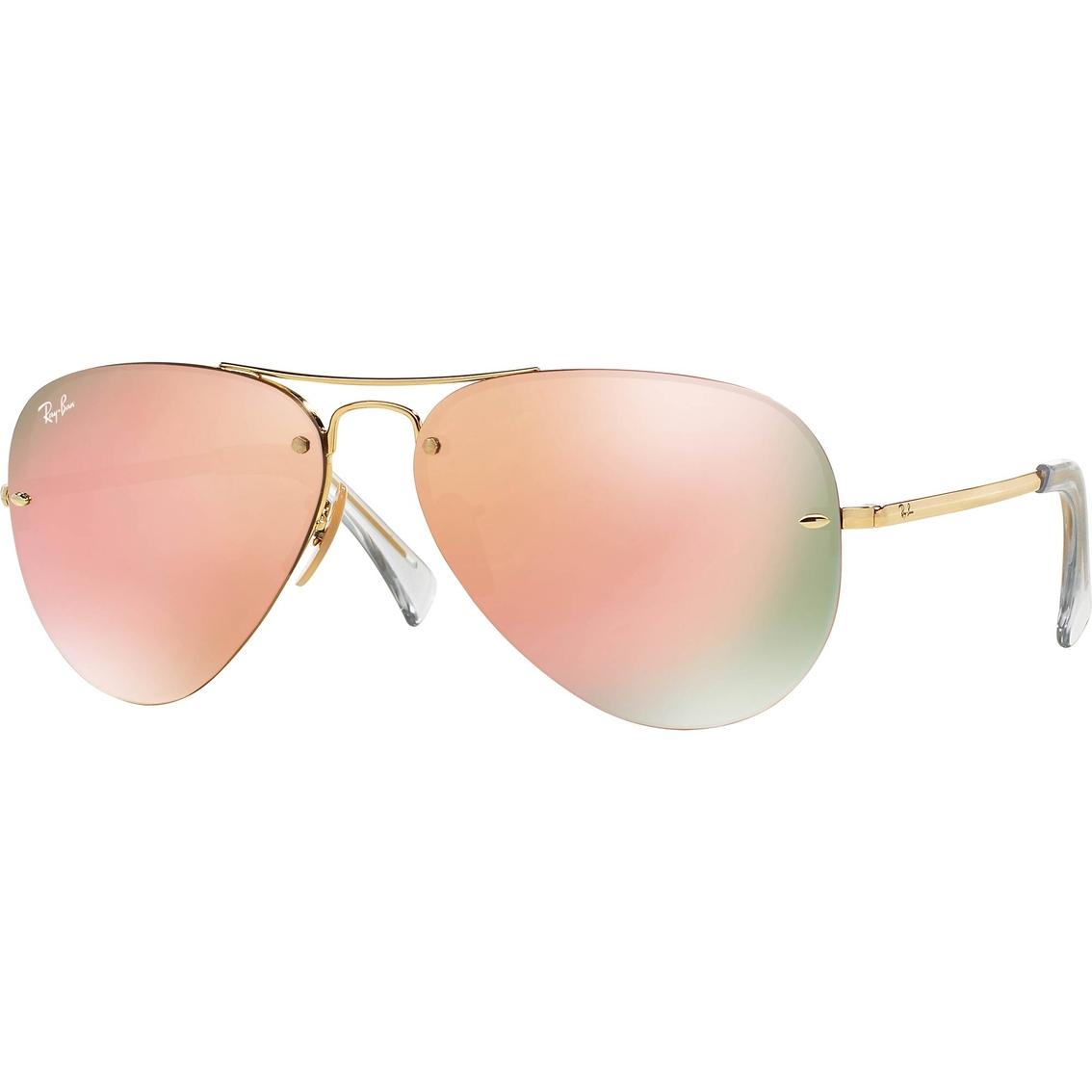 dc400f4a0c Ray-ban Semi-rimless Aviator Sunglasses 0rb3449