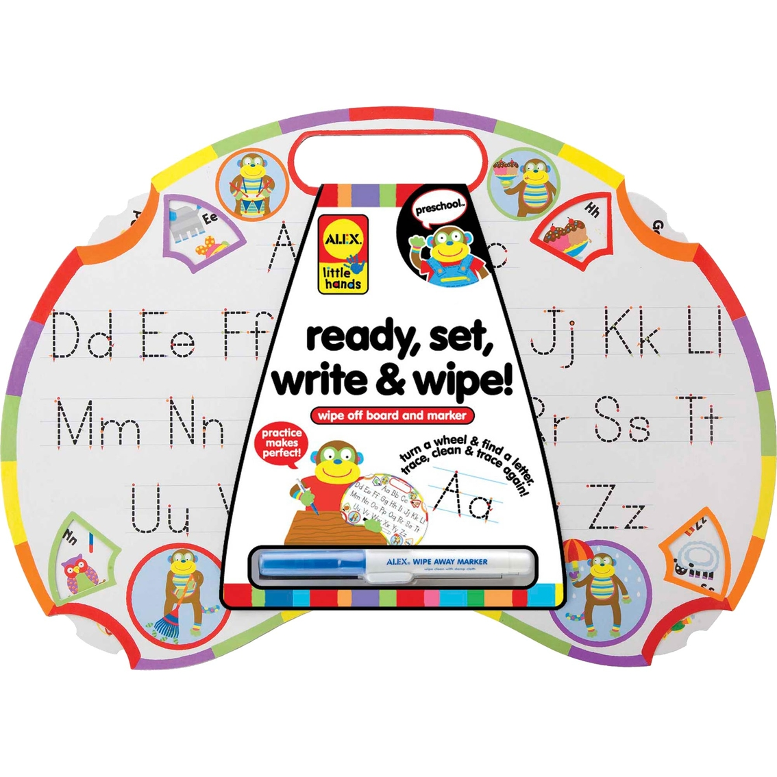 Ready, Set Write and Wipe Learn to Write Activity Board ...