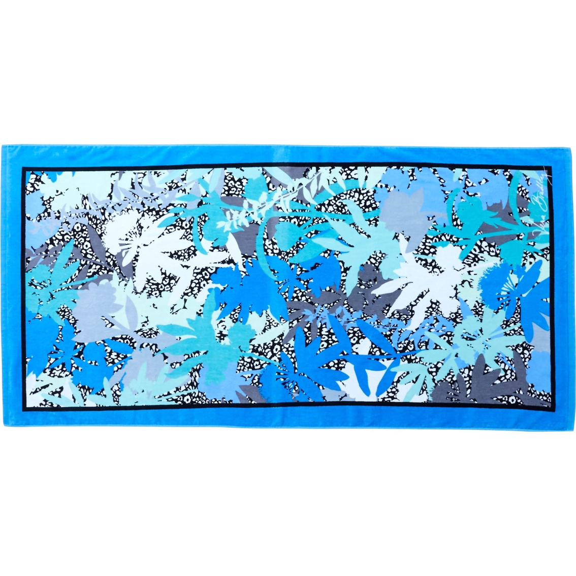 Vera Bradley Whale Beach Towel: Vera Bradley Beach Towel, Camofloral Cheetah