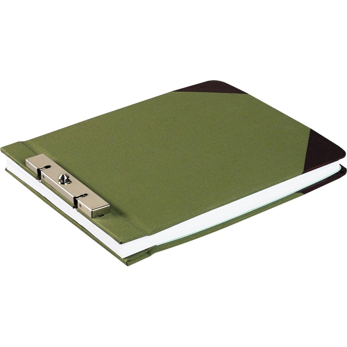 wilson jones 3 in capacity canvas sectional storage post binder 8