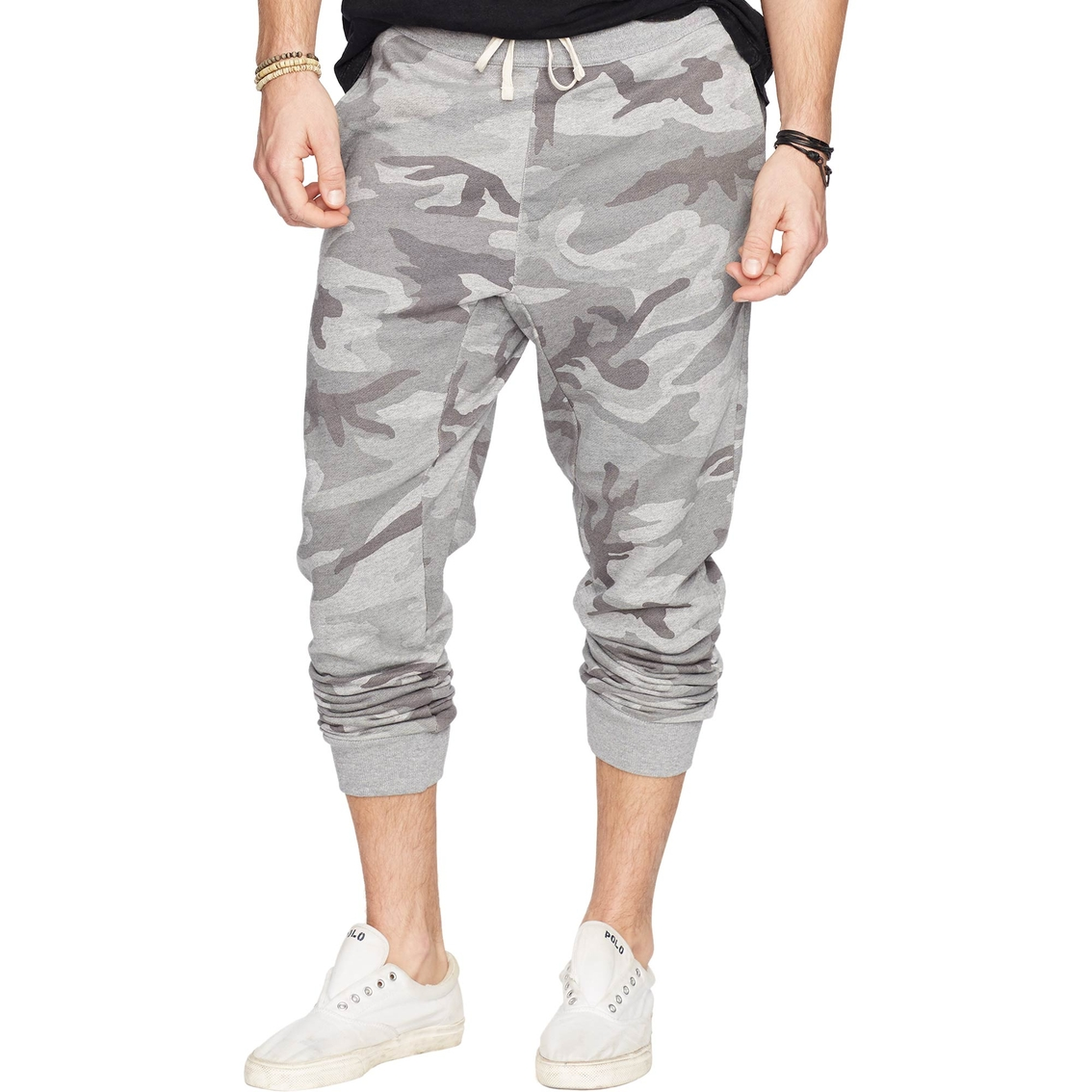 Denim   Supply Ralph Lauren Camo Fleece Jogger Pants  dc7e9019ec443