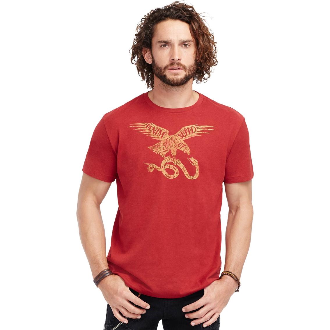 3f1ceb6d561317 Denim   Supply Ralph Lauren Cotton Jersey Graphic Tee