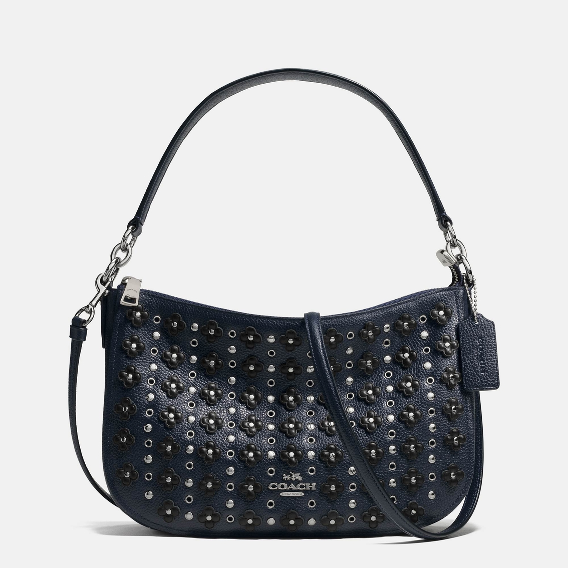 Coach Chelsea Crossbody In Floral Rivets Leather | Crossbody Bags | Handbags U0026 Accessories ...